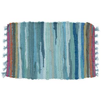Striped Chindi Placemat
