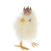 Yellow Feather Chick With Crown