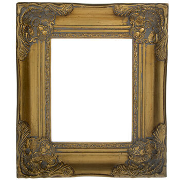 Antique Gold Wood Open Frame 8 X 10 Hobby Lobby 98450