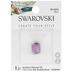 Amethyst Shimmer Swarovski Broilette Bead - 7.5mm x 11mm