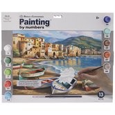 Spiaggia Della Citta Paint By Number Kit