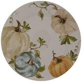 Pumpkins & Leaves Plate