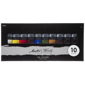 Oil Colors - 10 Piece Set