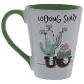 Looking Sharp Cactus Mug