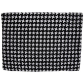 Black & White Chenille Houndstooth Placemat