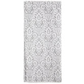 Gray Ornate Tissue Paper