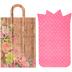 Floral Plank Bag Gift Card Holders