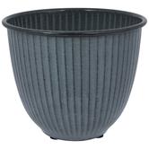 Vertical Striped Flower Pot