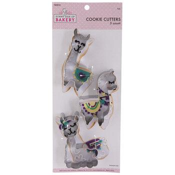 Llama Metal Cookie Cutters