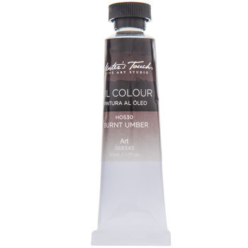Burnt Umber Master's Touch Oil Paint - 1.7 Ounce