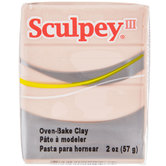 Beige Sculpey III Clay - 2 Ounce