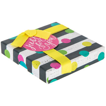 Confetti Dot & Striped Just For You Gift Box