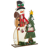 Snowman & Tree Christmas Countdown