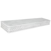 White Weave Wood Wall Shelf