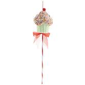 Glitter Cupcake Pick