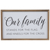 Our Family Wood Wall Decor
