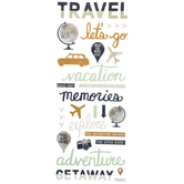 Travel 3D Stickers
