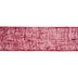Red Burlap Ribbon - 5 1/2