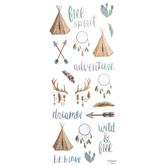 Free Spirit Stickers