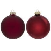 Matte & Shiny Ball Ornaments