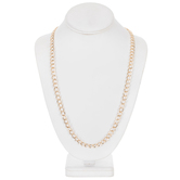 Curb Chain Necklace - 30""
