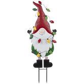 Christmas Gnome Garden Stake