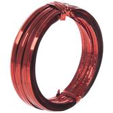 Red Foil Twist Tie Wire