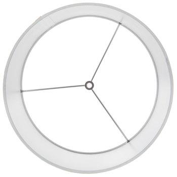 Circle Overlay Mercury Glass Lamp