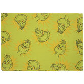 Grinch Faces Tablecloth