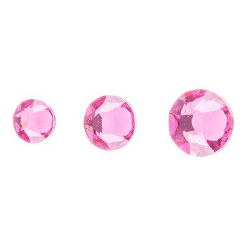 Rose Swarovski Xirius Flat Back Hotfix Crystals Mix
