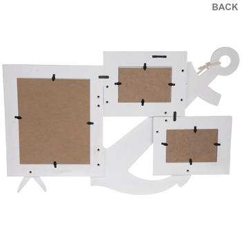 Anchor Wood Collage Wall Frame