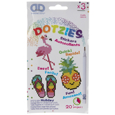 Summer Diamond Dotzies Sticker Kit