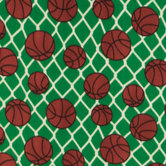 Basketball Fleece Fabric
