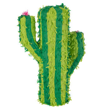 Green Striped Cactus Pinata