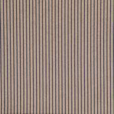 19th Century Striped Cotton Calico Fabric