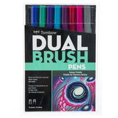 Dual Brush Pens - 10 Piece Set