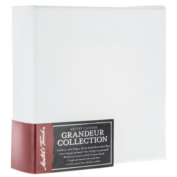 """Master's Touch Grandeur Collection Blank Canvas - 5"""" x 5"""""""