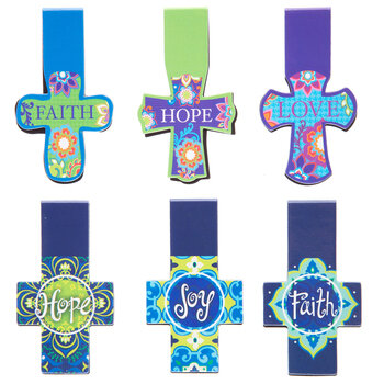 Magnetic Cross Bookmarks