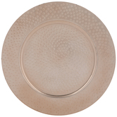 Hammered Copper Plate Charger