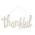Thankful Wood Wall Decor