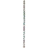 Crystal Helio Glass Bead Strand