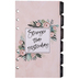 Undated Floral Planner Insert Sheets - 12 Months