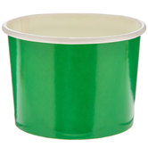 Holiday Green Paper Snack Cups