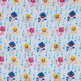 Baby Shark Gauze Fabric