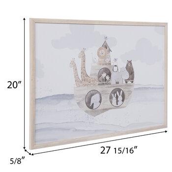 Noah's Ark Wood Wall Decor