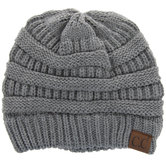 Light Gray C.C. Beanie