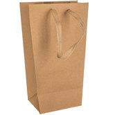 Kraft Tapered Gift Bag