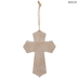 Strong & Courageous Wood Wall Cross