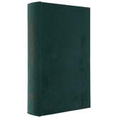 Dark Green Velvet Book Box