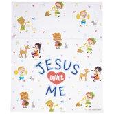 Jesus Loves Me Zipper Bags